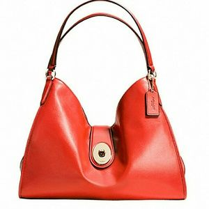 Coach Carlyle Luxe Smooth Leather Handbag NWT …